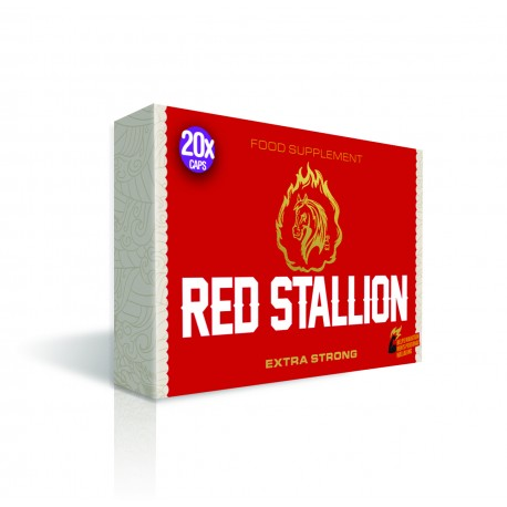 Red Stallion Extra Strong Herbal Enhancement Pills for Men